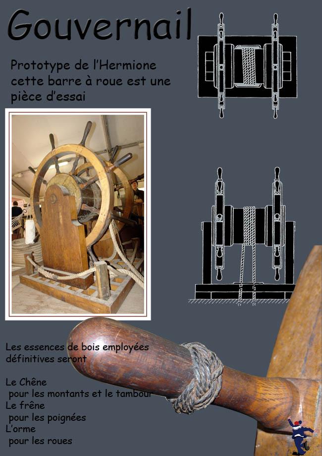 LE CHANTIER DE L'HERMIONE A ROCHEFORT ET SON VOYAGE Hermio49