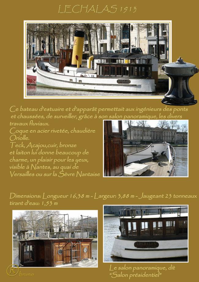 ELIDIR maquette de vedette à vapeur du XIXème siècle. Lechal10