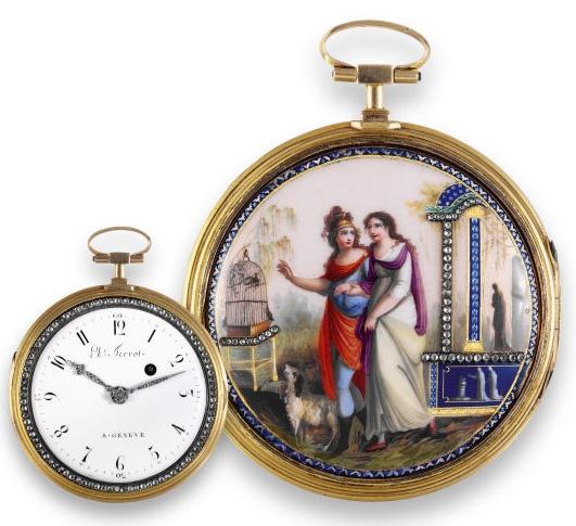 Les montres émaillées de Philippe Terrot (nombreuses photos) Amail_12