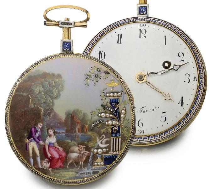 Les montres émaillées de Philippe Terrot (nombreuses photos) Amail_14