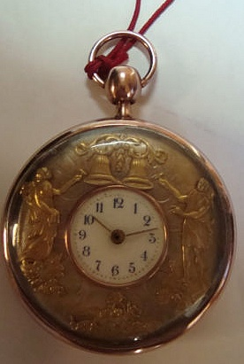 IMPORTANT GUIDE : how to recognise FAKE AUTOMATON POCKET WATCHES Coq_3_10