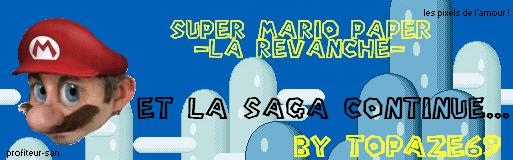 Projet Mario [3nd topique]. ABANDON. J'en commence un nouveau ? XD Marior10