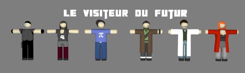 """[ Infographie ] Le Visiteur du Futur en 3D façon """"pâte à modeler"""" - Page 3 Wip_vd22"""