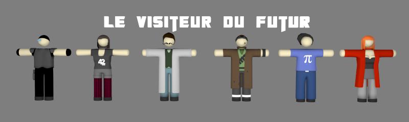 """[ Infographie ] Le Visiteur du Futur en 3D façon """"pâte à modeler"""" - Page 3 Wip_vd25"""