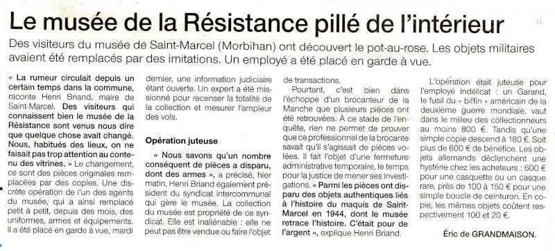 Musée de Saint Marcel MORBIHAN Cosafr11