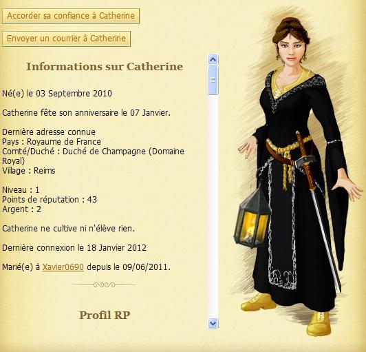 Catherine[TOP]Révolte et prise de la mairie - Varennes  - nuit du 17 au 18 janvier 1460 Cather10