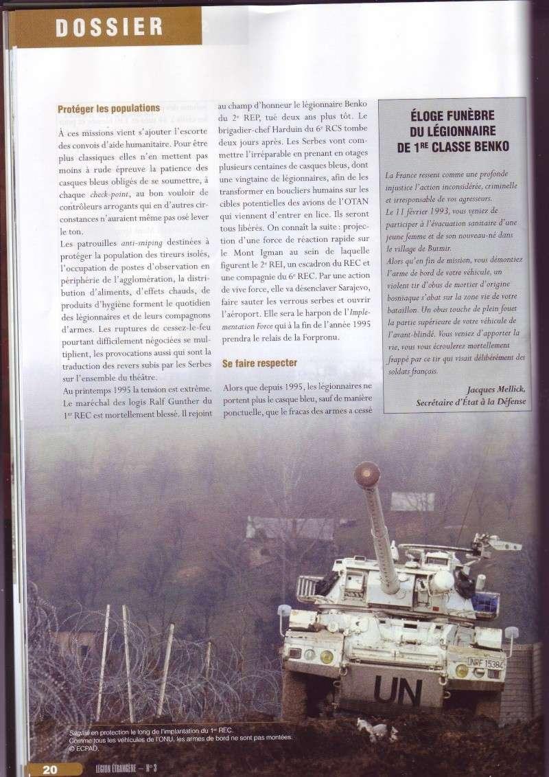 - Les légionnaires en mission ONU en Bosnie Image153