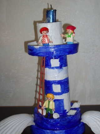 un phare breton confectionné par mon fils !! Photo_14