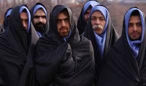 Les musulmans qui portent le voile islamique 510
