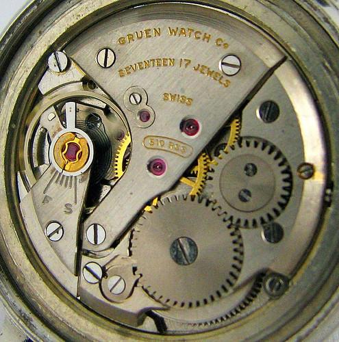 """GRUEN Super G, une rareté, """" 24 heures sautantes """" 510_rs10"""