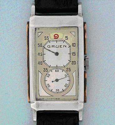 "GRUEN Super G, une rareté, "" 24 heures sautantes "" Gruen_11"