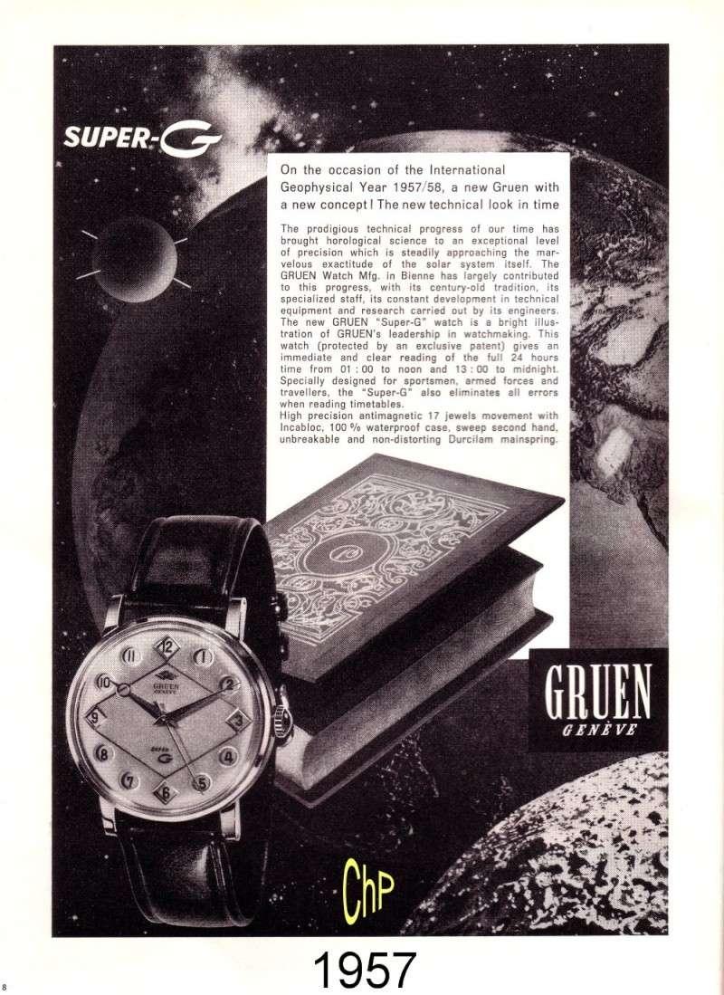 "GRUEN Super G, une rareté, "" 24 heures sautantes "" Gruen_25"