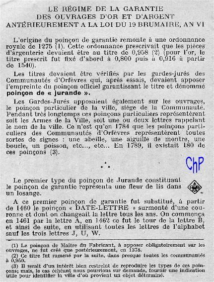- Poinçons Français, pour les amateurs Poinao10