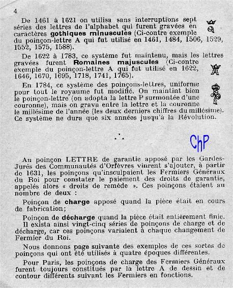 - Poinçons Français, pour les amateurs Poinao12