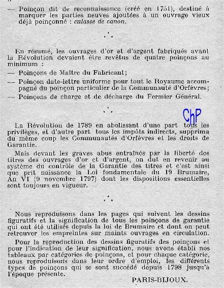 - Poinçons Français, pour les amateurs Poinao14
