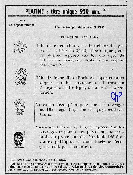 - Poinçons Français, pour les amateurs Poinao15