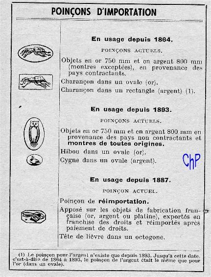 - Poinçons Français, pour les amateurs Poinao30
