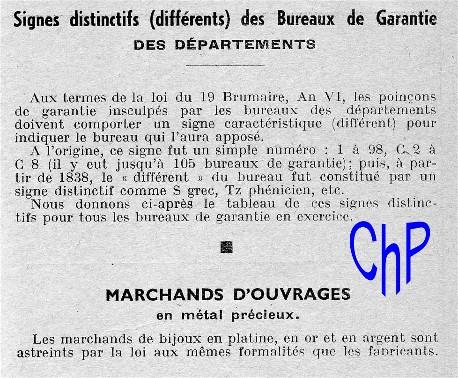 - Poinçons Français, pour les amateurs Poinao33