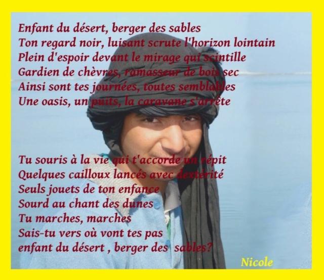 [Poésies, contes, légendes...] Naissance du Sahara Enfant10
