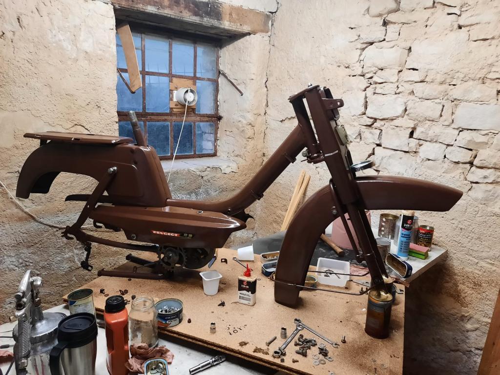 Restauration Peugeot BB RT 1V 11870410