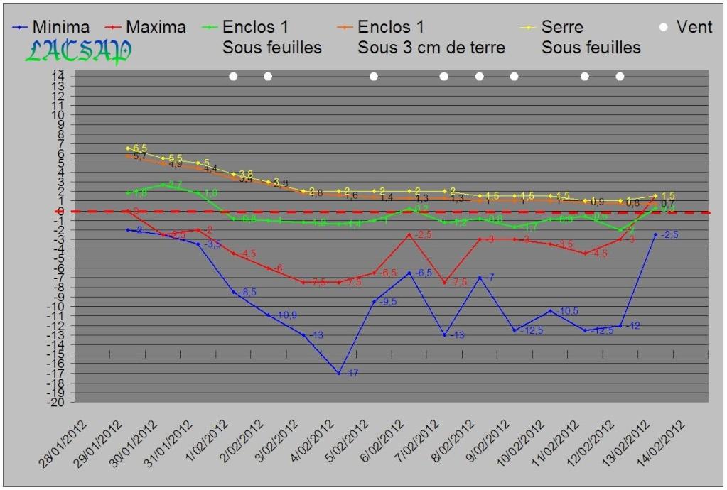 Relevés des températures dans un de nos parcs avec boettgeri en BEL Graph_14