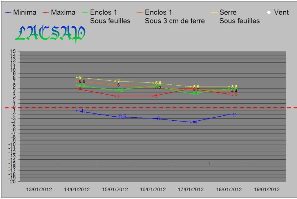 Relevés des températures dans un de nos parcs avec boettgeri en BEL Graph_15