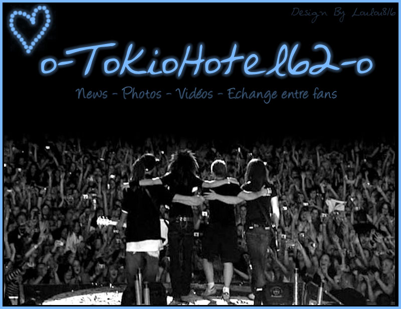 Les dernières news sur Tokio Hotel !!