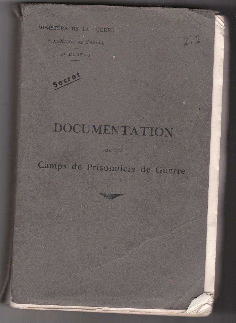 Camps de Prisonniers de Guerre (doc 5è Bureau) Img_0338
