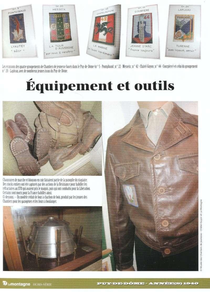 le musée des Chantier  de Jeunesse de Châtelguyon Img_0483