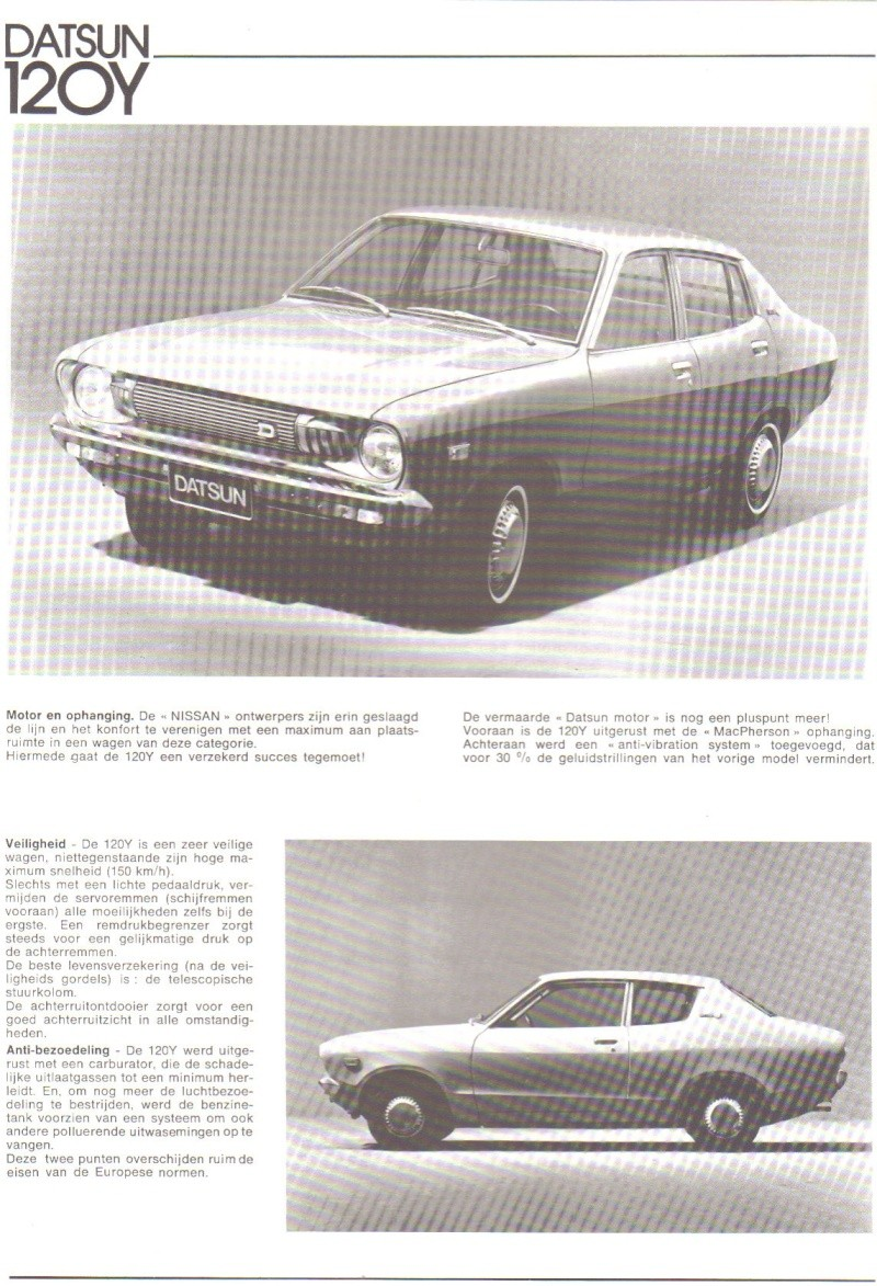 TOPIC OFFICIEL DATSUN 120Y B210 [SUNNY] 120y_b12