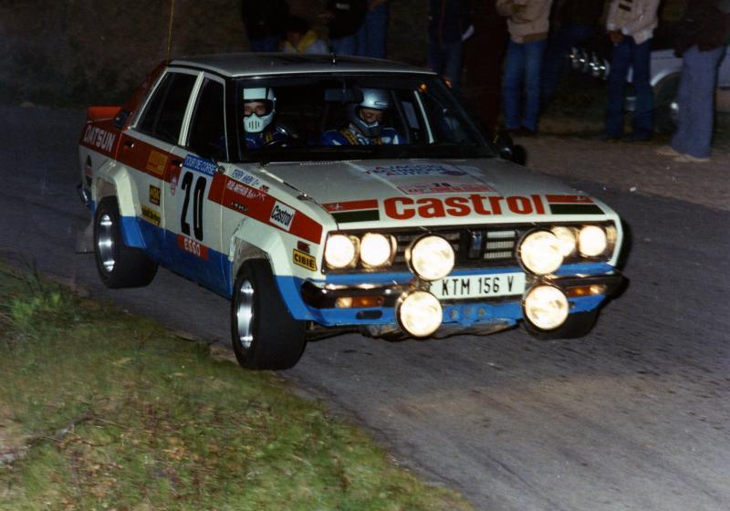 Ma Datsun VIOLET 140J de 1981 1981da12
