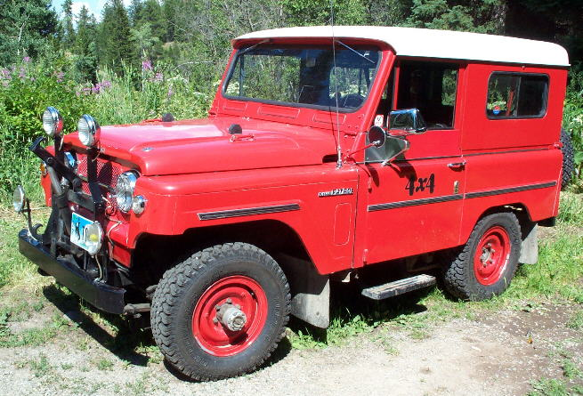 DATSUN PATROL.4WD => L60 . 1er PATROL [1963=>....1978] 66patr10