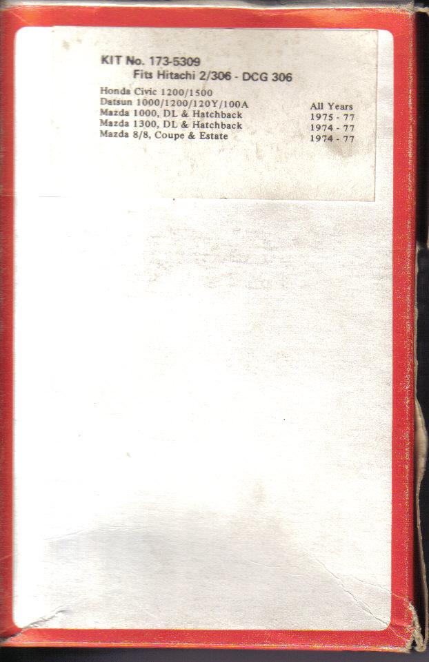 Ma Datsun VIOLET 140J de 1981 - Page 2 Carbu_11