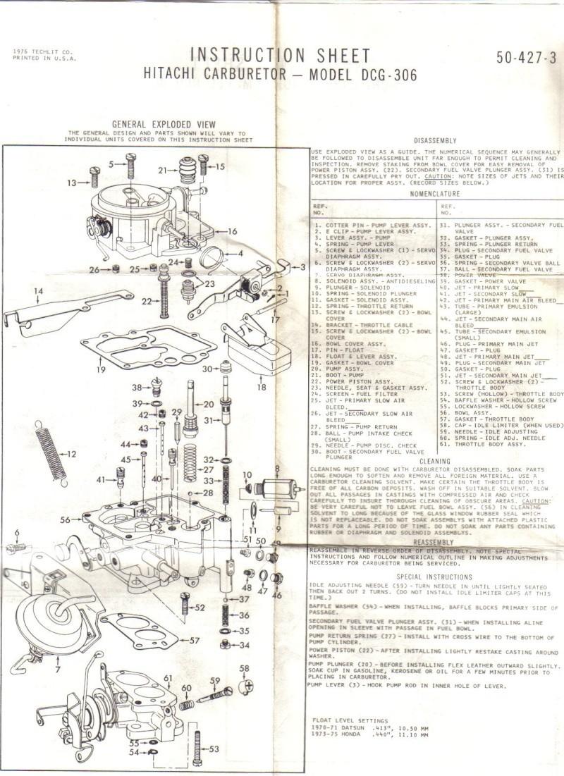 Ma Datsun VIOLET 140J de 1981 - Page 2 Carbu_12