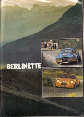 HISTORIQUE : ALPINE BERLINETTE Echapp11
