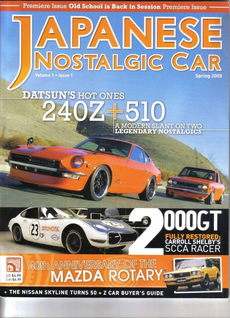 MAGAZINE !!! Japanese Nostalgic Car Japane10