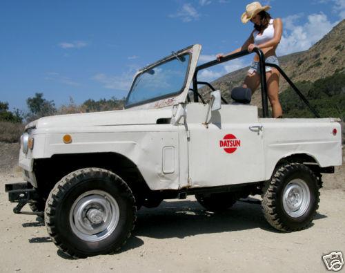 DATSUN PATROL.4WD => L60 . 1er PATROL [1963=>....1978] Patrol22
