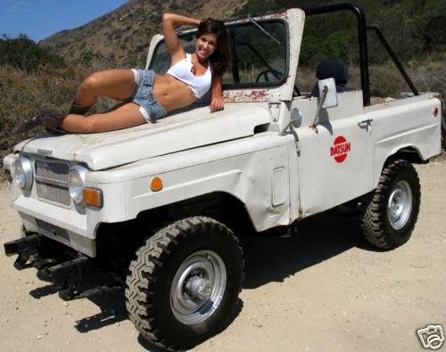 DATSUN PATROL.4WD => L60 . 1er PATROL [1963=>....1978] Patrol24