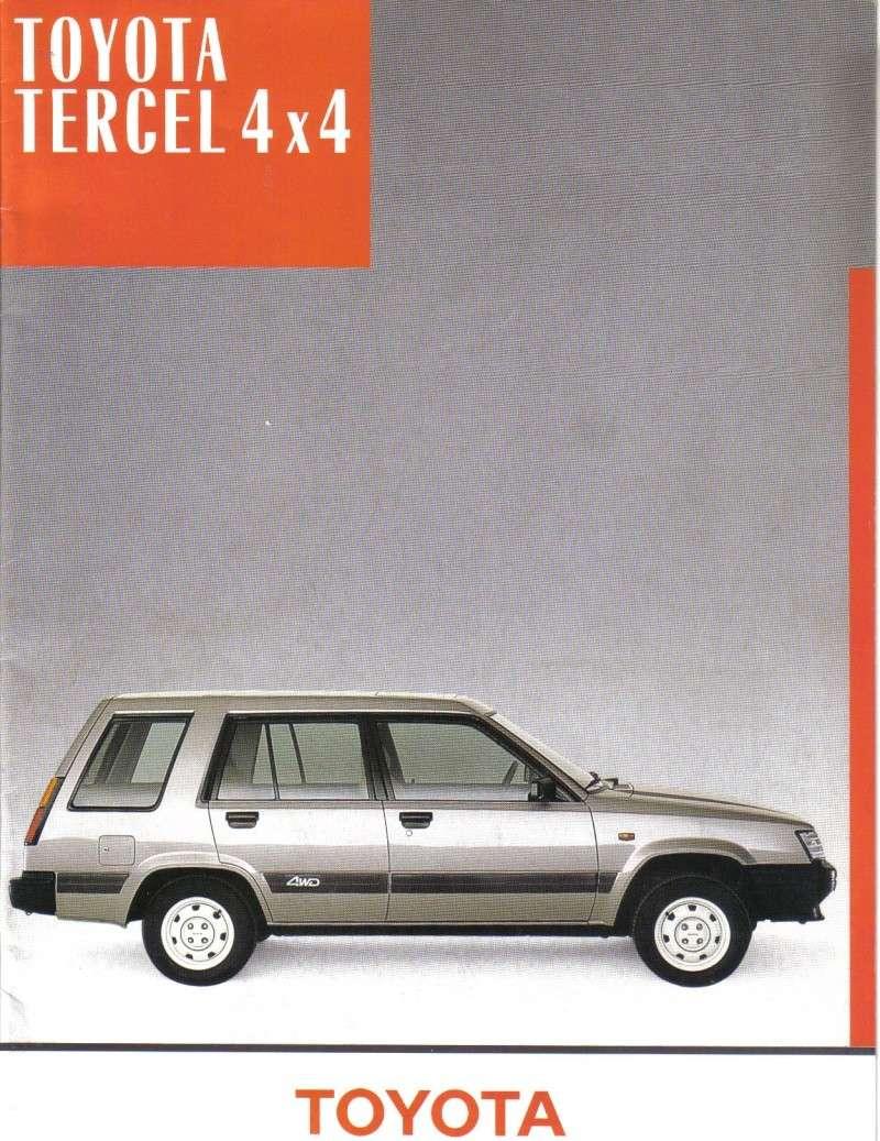 TOYOTA TERCEL & TERCEL 4WD - Page 3 Tercel10
