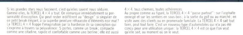 TOYOTA TERCEL & TERCEL 4WD - Page 3 Tercel13