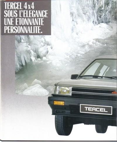 TOYOTA TERCEL & TERCEL 4WD - Page 3 Tercel14