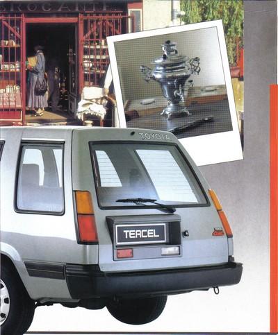 TOYOTA TERCEL & TERCEL 4WD - Page 3 Tercel18