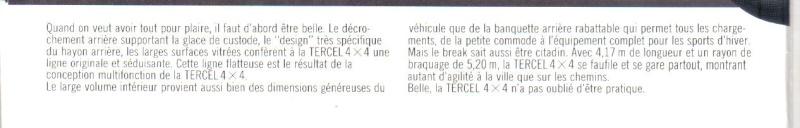 TOYOTA TERCEL & TERCEL 4WD - Page 3 Tercel19