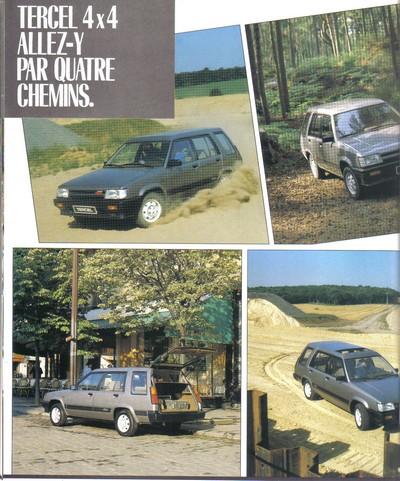 TOYOTA TERCEL & TERCEL 4WD - Page 3 Tercel23
