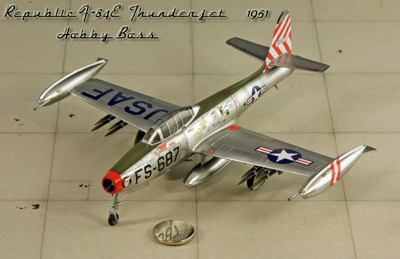 "Republic F-84 E ""Thunderjet"" [1:72 - HobbyBoss] Img_9984"