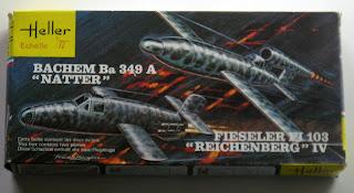"Duo Fieseler Fi 103 ""Reichenberg""IV + Bachem Ba 349A ""Natter"" Pb120211"