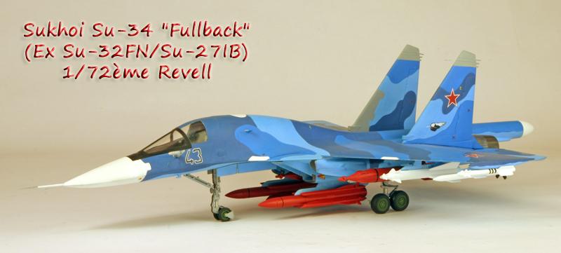 """Sukhoi Su-34 """"Fullback""""  [1:72 - Revell] Su-34_10"""