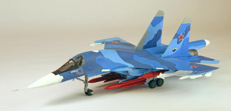 """Sukhoi Su-34 """"Fullback""""  [1:72 - Revell] Su-34_12"""