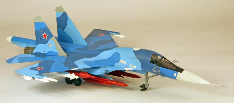 """Sukhoi Su-34 """"Fullback""""  [1:72 - Revell] Su-34_13"""