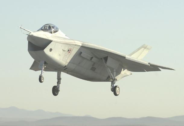 Boeing X-32A & Lockheed Martin X-35B [1:72 - Revell] X-32af10